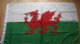 Wales Large Country Flag - 5' x 3'.
